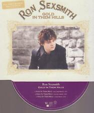 RON SEXSMITH  feat CHRIS MARTIN / Coldplay - gold in them hills - 3 track CD