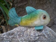 "ORIGINAL STEIFF FISH : FLOSSY  . 13 cm . 5 "" . NO ID . 1960's"