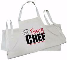 Childs-chef pâtissier design-natural (crème) coton drill tablier