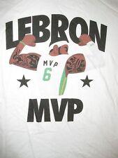 Lebron James MVP Cartoon T Shirt Sz M Cleveland Cavaliers #6 NBA Basketball LBJ