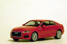 Herpa 1/87 HO Audi A5 Red PLASTIC BODY REPLICA 38669