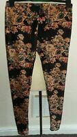 Original floral thick leggings size s