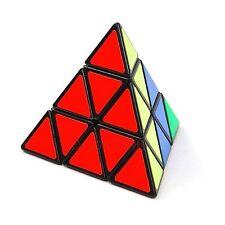 Clearance US Free Shipping Shengshou Pyraminx 3x3x3 Speed Magic Cube Twist Black