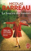 Livre Poche le sourire des femmes Nicolas Barreau 2015 Héloïse d'Ormesson book