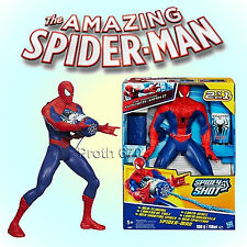 Marvel The Amazing Spiderman 2 Spidey Shot Web Slinging 2 in 1 Spider-Man Figure