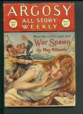 Argosy All-Story Weekly November 27, 1926 Vintage Pulp Magazine Very Good