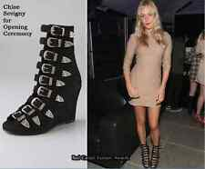 SUPER BEAUTIFUL!!!  CHLOE SEVIGNY x OPENING CEREMONY   BUCKLE BOOTS EU 37 US 7