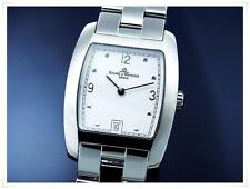 BAUME & MERCIER Men's Hampton S/Steel  Quartz Watch,Box and original Bracelet!