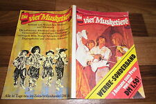 3x the Four Musketeers # 1 + 5 + 3 -- the young Duke + D. Gascogner + the assassination