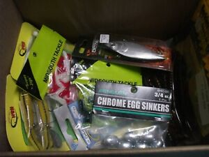 Variety  Tackle Box crankbaits sinkers hooks inline spinners jigs rapala lure