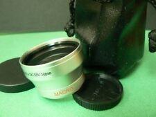 SL 40.5mm 0.45X Wide-Angle For Nikon 1 V1 J1 Camera w/10mm/10-30mm/30-110mm Lens