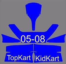 TopKart Kidkart 05-08 Go Kart  Graphics Template vector EPS