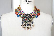Colour Striking Piece new Erickson Beamon Necklace Multi