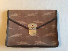 Pochette Vintage 1950'Longchamp PARIS Trousse Étui Sac Main