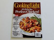 Cooking Light Magazine 12 Ways for Perfect Chicken March 2014
