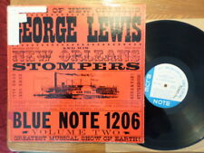 BLUE NOTE DG LP RECORD BLP 1206/GEORGE LEWIS/VOLUME 2/VG/VG+ VINYL RADIO STAMP