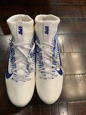 Nike Vapor Untouchable 2 Pf Football Cleats 835646-109 Blue White Mens Size 12.5