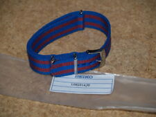 SEIKO 20mm BARCELONA N.A.T.O WEBBING MILITARY WATCH STRAP LO82014JO