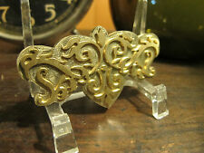 Brass ORNATE center ornament Bookbinding Letterpress Tool Stamp embossing die
