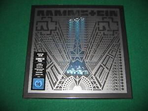 RAMMSTEIN Paris Deluxe Box Edition 4LP + 2CD + Blu-Ray 180 Gramm NEU/OVP/SEALED