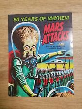 2012 TOPPS MARS ATTACKS HERITAGE PROMO HOBBY SELL SHEET GLOSSY PROMOTIONAL 50TH
