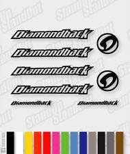 DIAMONDBACK Die-cut Decal Sticker sheet (cycling, mtb, bmx, bike, frame) - V2