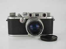 Leitz Leica III mit seltenem Carl Zeiss Sonnar 2 5cm 50 mm gekuppelt  80739