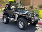 1981 Jeep CJ  1981 JEEP CJ 5 4x4 LAREDO 350 Chev V8 4 Speed Factory Black.