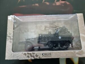 Atlas Editions WW2 Military Vehicles - USA Multiple Gun Motor Carriage M16