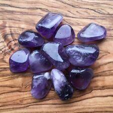 Large Amethyst Tumblestones 100g Wholesale Crystal Therapists Healers Healing