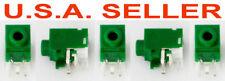 5 pcs Hosiden 3.5mm Miniature Audio Jack PCB Mount Stereo Part # HSJ3000-01-012