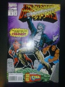 THE SECRET DEFENDERS #16 early DEADPOOL 2nd APPEARANCE as part of team 1st print