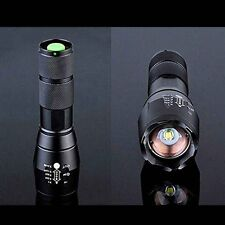 Tactical G700 8000Lm XML T6 LED Zoomable Flashlight Focus Torch 18650 Lamp Light