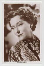POSTCARD - Picturegoer #W908 Gloria Swanson, movie film cinema actress
