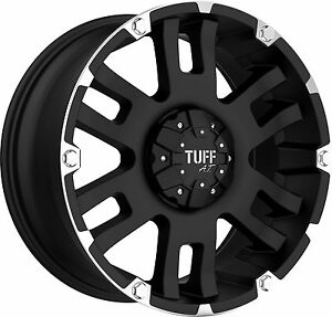Tuff T04 9x20 8x165,1 Cerchioni per Hummer H2 Dodge RAM Fuoristrada