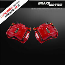 Front Red Brake Calipers CL TL INTEGRA TYPE S R ACCORD CRV VIGOR PRELUDE ODYSSEY