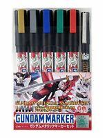 GSI Creos Gundam marker GMS121 Gundam metallic marker set