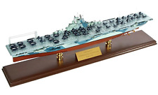 "U.S Navy Aircraft Carrier USS Yorktown CV -10 Wood 30"" Model Ship Assembled"