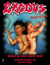 """Exodus """"Bonded by Blood Guitar Book"""" Print Edition Official Tab Book Brand New!"""