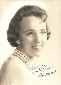 BARBARA When She Was Young 5 x 7 FOUND PHOTOGRAPH Vintage B + W Original 12 5 S