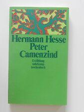 Hermann Hesse Peter Camenzind Erzählung Suhrkamp Taschenbuch Verlag Buch
