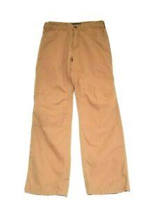 Mens REI Hiking Pants 30 x 32 100% Organic Cotton, Tan Brown