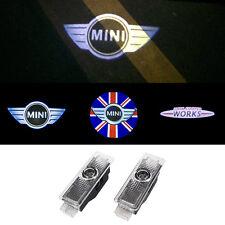 2x LED Door Laser Courtesy Logo Light For Mini Cooper R55 R56 r57 R58 R59 R60