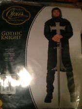 Gothic Knight Costume: Includes Tunic And Hood. Size xL.