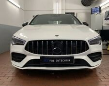 Kühlergrill Grill für Mercedes CLA Klasse W118 Schwarz Chrom AMG Panamericana GT