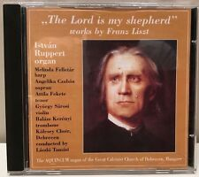 The Lord Is My Shepherd works by Liszt Ruppert Istvan organ Import CD DLCD 133