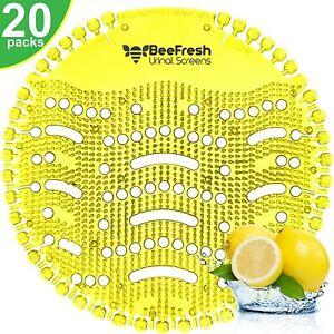 Urinal Screens Deodorizer (20 Pack), Urinal Cake, Anti-Splash Odor Freshener