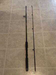 "VINTAGE Abu Garcia 3 Star 6' 6"" TSS66ML 2-Pc Medium Action Foam Grip Fishing Rod"