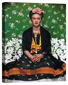 quadro Frida Kahlo Stampa su tela Canvas effetto dipinto
