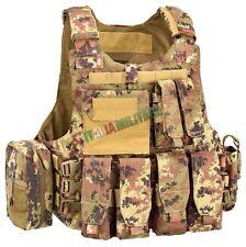 Body Armour Full Set DEFCON 5 Vegetato - Gilet Tattico Militare Completo Defcon5